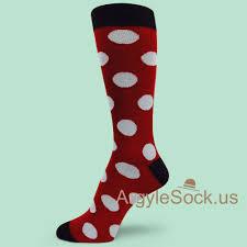 men u0027s polka dots socks groomsmen socks gift argyle socks for men