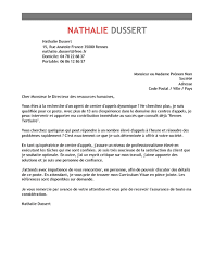 lettre de motivation de centre d appel exemple lettre de