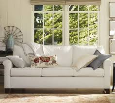 Pottery Barn Grand Sofa Dimensions by Quick Ship Cameron Roll Arm Upholstered Sofa Pottery Barn
