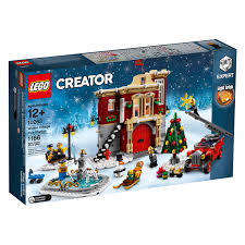 LEGO Creator Winter Village Fire Station (10263) Officially ...