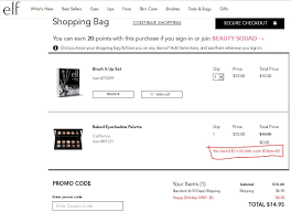 Elf Cosmetics Coupon Code Uk Shop Kohls Cyber Week Sale Coupon Codes Cash And Up To 70 Off Scentsplit Promo Althea Code Enjoy 20 Off December 2019 45 Italic Boxyluxe Free Natasha Denona Gift 55 Value Support Will Slash Your Devinah Aila Cosmetics 1162 Photos 2 Reviews Hlthbeauty Birchbox Stacking Hack How Use One Coupon Code For Multiple Discounts In Apply A Discount Or Access Order Drugstore Com New City Color Cosmetics Contour Boxycharm 48 Value It Cosmetics