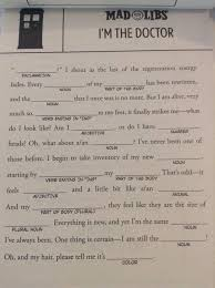 Halloween Mad Libs Pdf by Pdf Doctor Who Mad Libs 28 Pages Mar161985 Doctor Who Mad