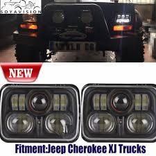 soyavision 54w 7x6 inch led headlights bulb for 86 95 jeep