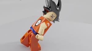 ImageI Made A Lego Goku