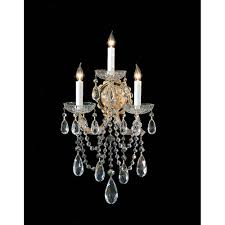 crystal wall sconces up to 50 off lighting from bellacor