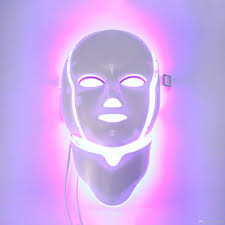 Pdt Light Therapy Led Facial Mask With 7 n Colors For Face