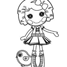 Its A Blast Say Dot Starlight In Lalaloopsy Coloring Page