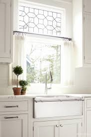 Modern Kitchen Trends Best 25 Half Window Curtains Ideas On Pinterest Cafe With Contact Paper For Cabinets