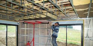 pose rail placo plafond faire un faux plafond en placo
