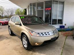 IMPORT AUTO & TRUCK INC. : 2005 Nissan Murano SL - Chattanooga, TN 2003 Murano Kendale Truck Parts 2004 Nissan Murano Sl Awd Beyond Motors 2010 Editors Notebook Review Automobile The 2005 Specs Price Pictures Used At Woodbridge Public Auto Auction Va Iid 2009 Top Speed 2018 Cariboo Sales 2017 Navigation Bluetooth All Wheel Drive Updated 2019 Spied For The First Time Autoguidecom News Of Course I Had To Pin This Its What Drive 2016 Motor Trend Suv Of Year Finalist Debut And Reveal Ausi 4wd