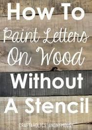 DIY Rustic Wood Sign Tutorial