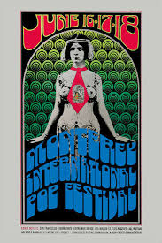 Monterey Pop Music Festival Event Poster 1967