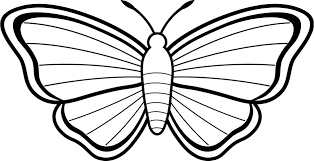Download Coloring Pages Kid Free Printable Butterfly For Kids