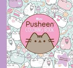 Amazon Mini Pusheen Coloring Book 9781501180972 Claire Belton Books