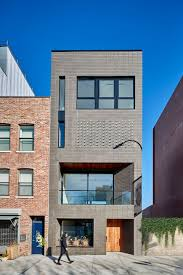 100 Townhouse Facades Grand Street StudioSC Archello