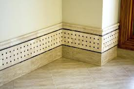 baseboard tile how to add a tile baseboard to a bathroom how to