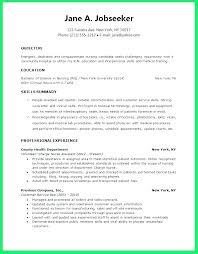Resume Objective For Fresh Graduate Nurse Nursing Objectives Example