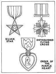 Celebrating Veterans Day With US Medal Of Honor Coloring Page