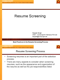 How To Screen CVs | Résumé | Java Server Pages Resume Screening Complete Selfaessment Guide Gerardus Management Software And Applicant Tracking Agreeable Matrix Template In Job Simple Google Docs Screeningcomputer Gautam Consultancy How Job Hunters Can Make It Past The Sumescreening A Howto For Recruiters Ai Recruitment The Future Of Automated Recruiting Resume Screening Alist Interviews Trying To Get Into Data Analytics Critique Machine Learning Ultimate To