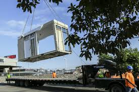 100 Shipping Containers California Housing Orange Countys Homeless Vets Three Shipping Containers