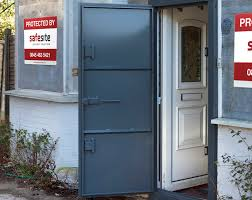 Metal Security Doors from Safe Site Security Solutions No