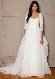 wedding dress modest wedding dress corset back long lasting
