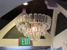 Furniture: Diy Chandelier Delightful Milk Bottle Chandelier Droog ... Lighting Lamp Wine Glasses Chandelier Pottery Barn Chandeliers Glass Ebay The Lush Nest Eat Host Dwell Recycled Beaded Blue Shades Maria Theresa Murano Globe Kitchen Best Simple Inspiration Litecraft Your Home Youtube Design Emery