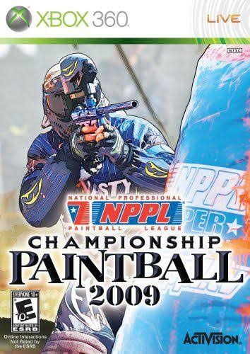 NPPL Championship Paintball 2009 XBox 360 Game