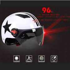 New Style Motorcycle Helmets Motorbike Vespa Open Face Half Motor Scooter Goggles Capacete Black