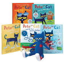 pete the cat books demco pete the cat book character set