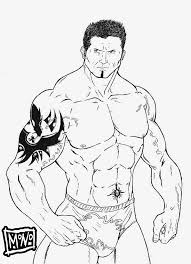 Wwe Raw Coloring Pages 19 WWE