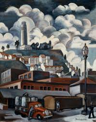 Coit Tower Murals Prints by Museums Coproduce Show About Collaboration In California Art