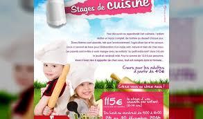 stages de cuisine stage de cuisine enfants de 6 à 14 ans à grâce hollogne stages à