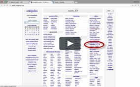 CraigsList Training Video 1 On Vimeo