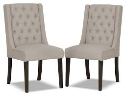 Captain Chairs For Dining Room Table by Dining Room Enchanting Tufted Dining Chair For Home Furniture