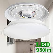 le deckenleuchte ersetzt 80w glühbirne 22w leuchtstoffröhre 12w ø28cm 950lm 120 abstrahlwinkel led deckenle deckenbeleuchtung im wohnzimmer