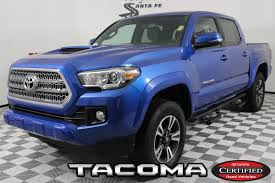 Certified Pre-Owned 2017 Toyota Tacoma TRD Sport In Santa Fe ... Bay Springs Used Toyota Tacoma Vehicles For Sale Popular With Young Consumers And Offroad Adventurers 2008 Toyota Tacoma Double Cab Prunner At I Auto Partners 2017 Trd Off Road Double Cab 5 Bed V6 4x4 Marlinton Parts 2006 Sr5 27l 4x2 Subway Truck Inc 2016 For In Weminster Md Vin 2011 Daphne Al Tacomas Less Than 1000 Dollars Autocom Limited 4wd Automatic 2018 Sr Tampa Fl Stock Jx107421 2015 Prunner Sr5 Sale Ami
