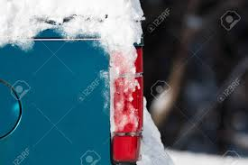 Snow Covering Parts Of An Old Truck With A Red Taillight. Stock ... Old Ford Heavy Duty Truck Parts Best Resource For Chevrolet Trucks All About October 13 Blue The 2010 Blog Bestwtrucksnet Oldgmctruckscom Used Section Custom Uk Charming 50s Google Search Bad Ass Vintage Rustic Holding Junk Stock Image Of Garbage Sale Lakoadsters 1965 C10 Hot Rod Classic Talk