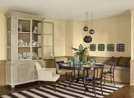 Elegant Old World Yellow Dining Room