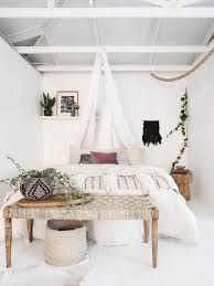 Shabby Chic Style Bedroom Idea In Las Vegas With White Walls