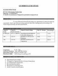 Sample Resume Format For Mechanical Engineering Ideal Civil Engineer Fresher Photo Gallery Photographers