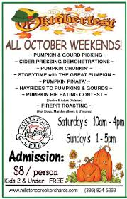Pumpkin Patch Farms Raleigh Nc by Millstone Creek Orchards