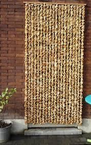 how to make a beaded door curtain door curtains doors and bead
