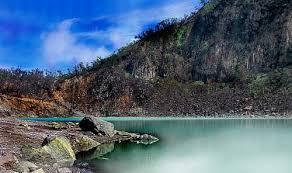 Kawah Putih Bandung Java Indonesia