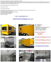 2O11 8.5 X 18 Concession Trailer Loaded With Equipment   Favorite ... Your Favorite Jacksonville Food Trucks Truck Finder Are You Doing These 7 Things To Maximize Your Food Truck Revenue Step Van Nice Sheet Metal Foodtruck Pinterest 20 Ft Ccession Nation The Images Collection Of Nationwide Used Taco Inside For Factory Supply Customize Color Size Equipment Mobile Fast Vehicle Inspection Program Los Angeles County Department Public Mobile Kitchenfood Trailer Sales 10 Most Popular Trucks In America Sale We Build And Vans Trailers