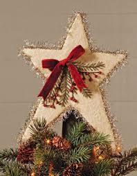 Image Of Rustic Star Tree Topper Style