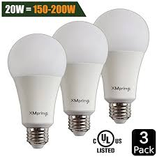 20w 150w 200w equivalent a21 led light bulb 2400 lumens 5000k