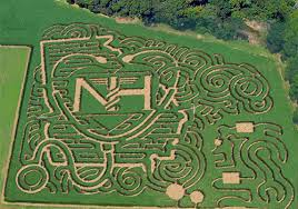 Pumpkin Farms In Georgia by Past Corn Mazes At Uncle Shucks Pumpkin Patch And Corn Maze