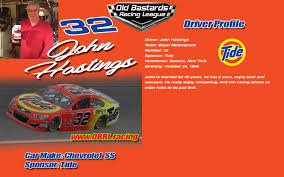 32 John Hastings Driver Profile - Old Bastards Racing League Nascar Camping World Truck Series Alpha Energy Solutions 250 Harrison Burton To Make Debut In Fall Martinsville Race First Israeli Driver Compete Sauter Sizes Up Eldora Dirt Derby Cody Coughlin Joins Thsport Racing For The 2017 Season Winners Photo Galleries Nascarcom Apr 2 2011 Virginia Us At The Nascar 2018 Driverteam Chart Youtube Editorial Photography Image Of Playoff Field Set Chase Format For You Xfinity And Final Lap Christopher Bell Wins At Mudsummer Classic