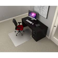 office rectangle chair mat for low pile carpet moderate office